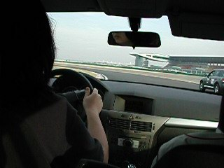 PP Driving @ Shanghai International Circuit, 2 weeks after F1 Shanghai Race 2004